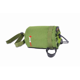 Acepac Fat Bottle Bag Bike Pannier green/black